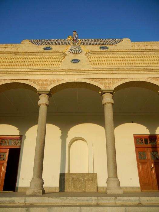 Entrée du temple zoroastrien de Yazd